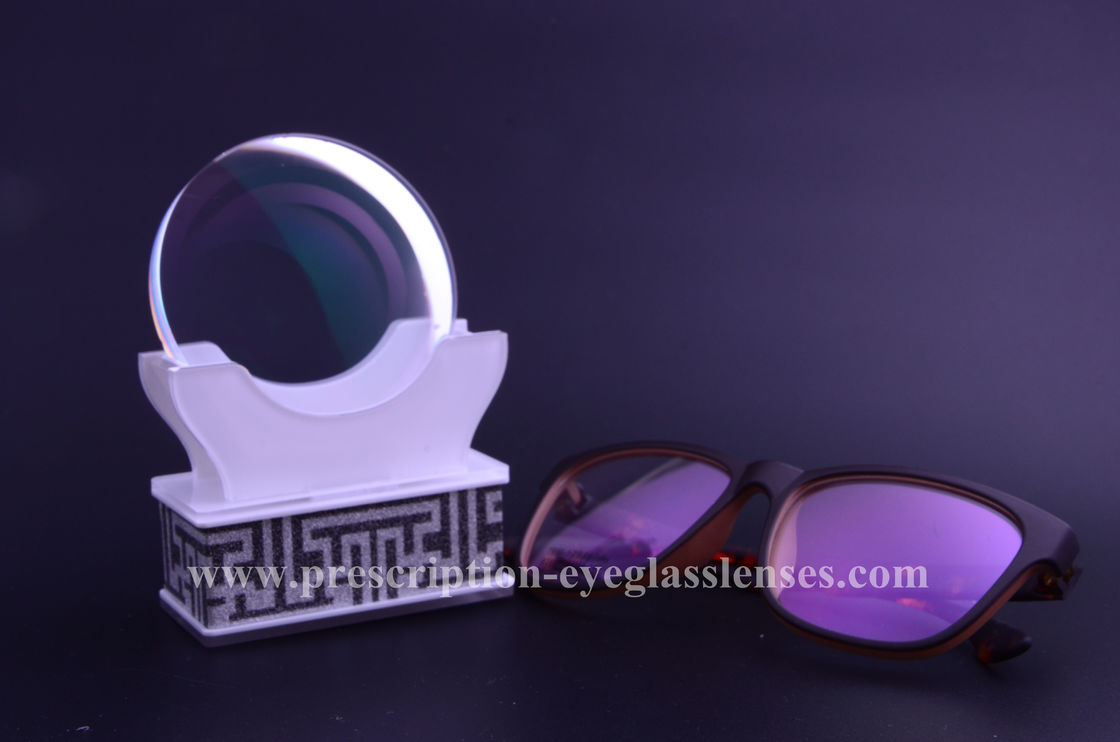 Semi Finished Cr39 Single Vision Lenses Blanks AR Anti Radition Coating